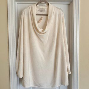 Loft Size 24/26 Cream Sweater